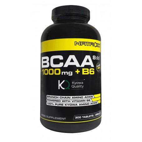 BCAA 8:1:1 - 1000 mg + B6 Kyowa - 300 compresse
