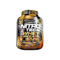 NitroTech Whey Isolate Gold + 1.814g