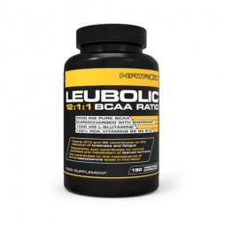 Natroid Leubolic 12:1:1 BCAA Ratio - 180