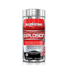 Pre-WorkOut Explosion - 120 Compresse